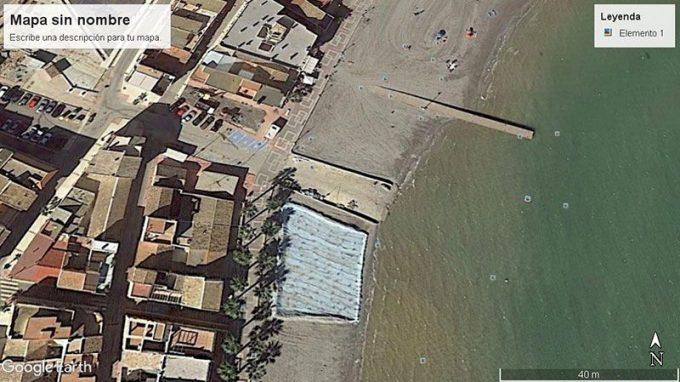 Acceso mar menor, Los Alcázares-Rambla