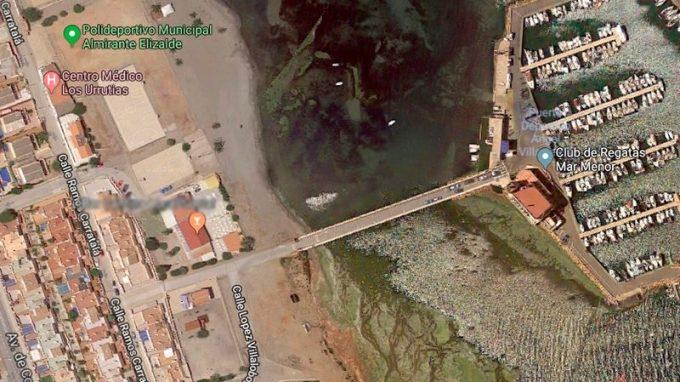 Acceso mar menor, Los Urrutias