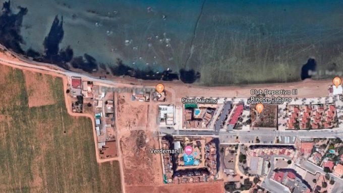 Acceso mar menor, Playa Honda