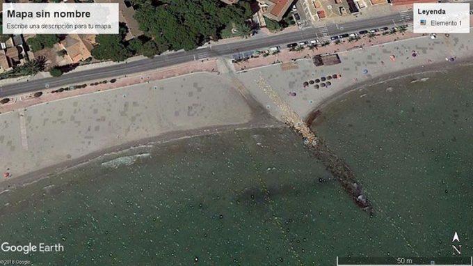 Acceso mar menor, Sgo de la Ribera-Lo Pagán
